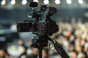 מצלמת וידאו מקצועית