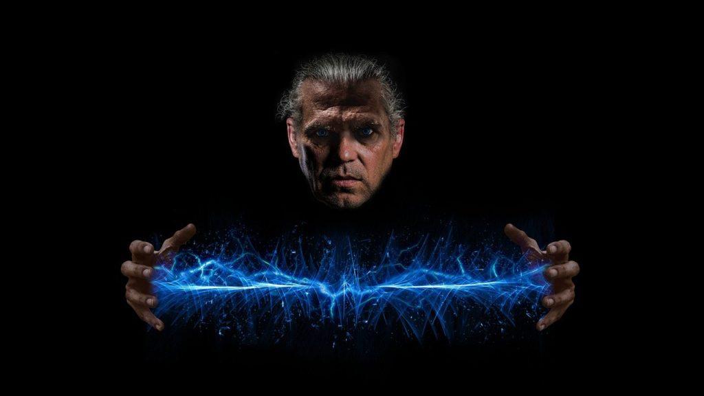 איש עם זרם חשמלי